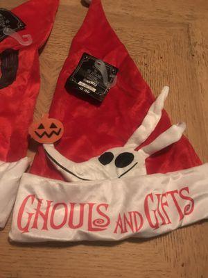 📌one left . Zero Nightmare before Christmas Santa hat for Sale in San Jose, CA
