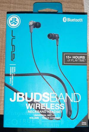 JBuds Band Wireless Earbud Neckband Headset - Black for Sale in Westland, MI