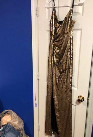 Gold Dress fashion nova for Sale in Dallas, TX