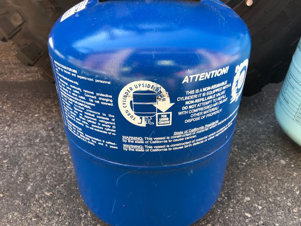 Freon Refrigerant R422B, 25lb. Jug (R22 Replacement)