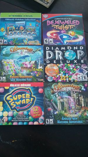 6 PC games for Sale in Bakersfield, CA