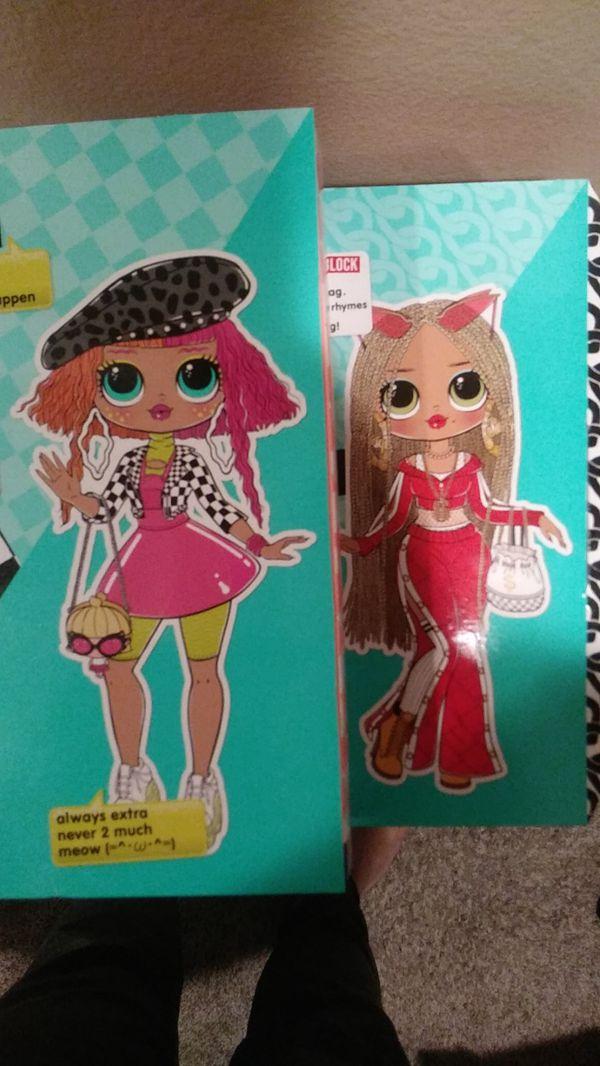 Lol Surprise OMG Dolls set of 2