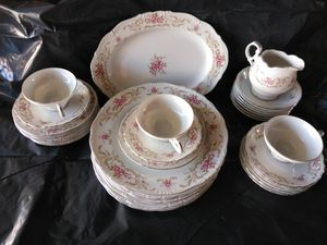 Style house boroque rose antique china for Sale in Warren, MI