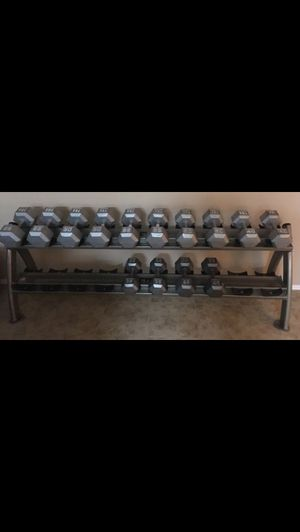 Dumbbell rack only!!!!No weights!!!great condition!willing to trade for Workout equipment and cash or if the trade is right,straight across for Sale in Phoenix, AZ