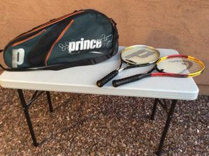 Tennis Rackets and Bag for Sale in Laveen Village, AZ
