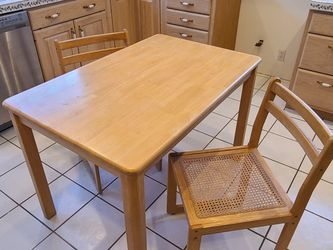 Wooden Breakfast Table and Chairs for Sale in Beverly Hills,  CA