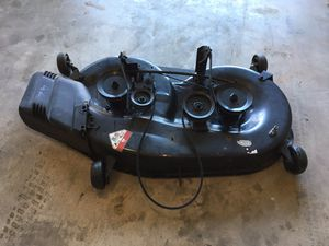 """Like New 42"""" Inch Complete Mower Deck for Sale in Grain Valley, MO"""