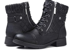 Women Combat Boot - size 7 for Sale in Sunnyvale, CA