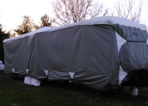 New!! Travel Trailer cover, cover, toy hauler cover, all weather protection cover 22' to 24' RV , auto parts for Sale in Phoenix, AZ