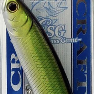 LUCKY CRAFT ESG WANDER 95 3/4OZ WD95-ESG-925 GOLDEN GREEN C1106 for Sale in Irvine, CA
