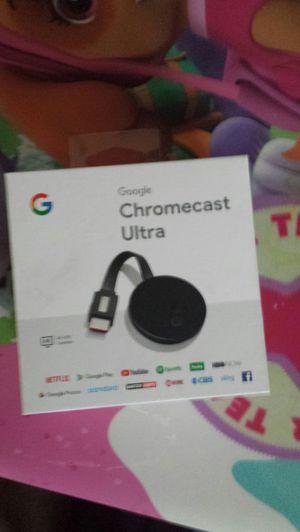 Google Chromecast Ultra for Sale in Parkville, MD