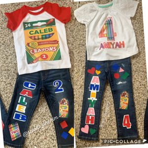 Crayon custom set for Sale in Del Sur, CA