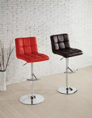 Ride 1157 Red Airlift Swivel Barstool, Set of 2 by Homelegance for Sale in Jessup, MD