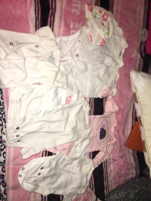 Newborn clothes .50/piece for Sale in Manassas, VA