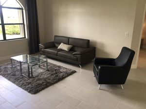 Living room couch coffee table side chair for Sale in Boynton Beach, FL