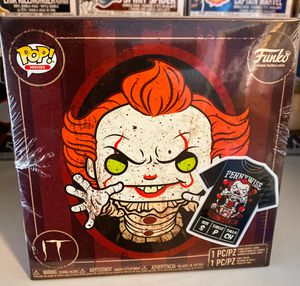 """Funko Pop Pennywise (Metallic) POP and Tee """"Small"""" Box for Sale in Orange, CA"""