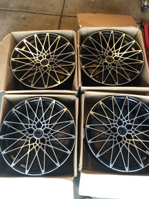 Aodhan LS001 19 inch rims 5x114.3 for Sale in Grayslake, IL