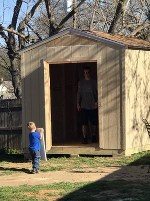 Sheds concrete garages and patio covers for Sale in Dallas, TX
