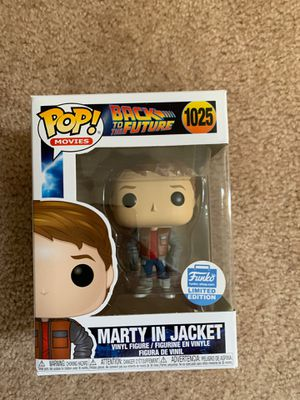 Funko Pop Back to the Future Marty in loose Jacket Funko shop Exclusive for Sale in Los Angeles, CA
