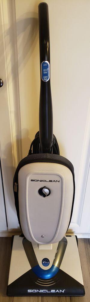 Soniclean Vaccum Model 0520 w/4 new HEPA filter bags & 6 fragrance pods for Sale in Laguna Beach, CA