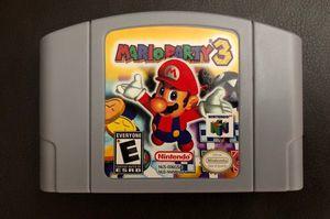 Mario Party 3 Nintendo 64 for Sale in Riverside, CA