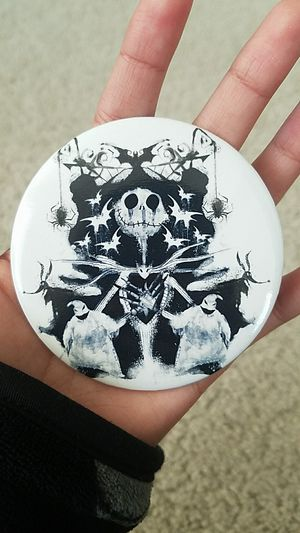 Nightmare before Christmas 3in button for Sale in Lewisville, TX