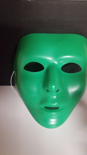 Green Halloween Mask for Sale in Fremont, CA