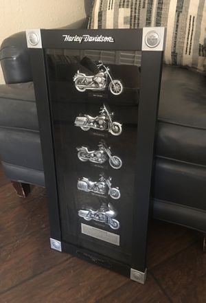Harley Davidson 2008 Wall hanging with box for Sale in Clovis, CA