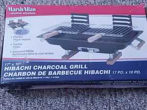 Marsh Allan Hibachi Charcoal Grill for Sale in Danville, PA