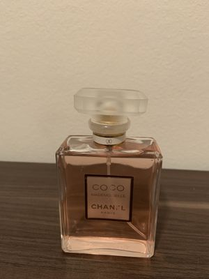 Open bottle of coco Chanel perfume for Sale in Royal Oak, MI
