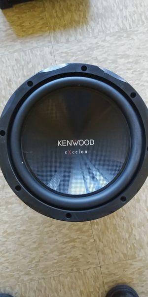 "12"" SUBWOOFER KENWOOD 1200W NO BOX FUNCIONA BIEN for Sale in Compton, CA"