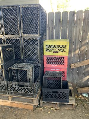 Milk crates for sale $5 for Sale in Riverside, CA