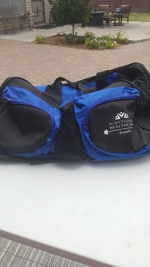 Duffle bag with zipper pockets for Sale in Scottsdale, AZ