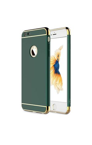 (BB34) RORSOU iPhone 6 Case, iPhone 6s Case, 3 in 1 Ultra Thin and Slim Hard Case Coated Non Slip Matte Surface with Electroplate Frame for Sale in La Puente, CA