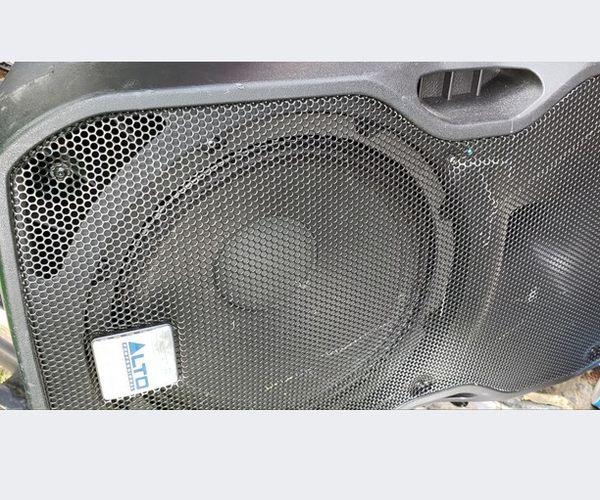 2 Alto 12inch Speakers