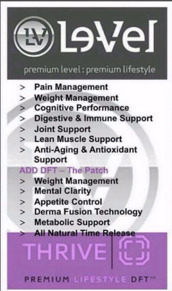 Le-vel - Thrive Experience/Thrive Skin (Need Energy, Gut health, Boost in Mood, Clear Mind, Weight Loss?)