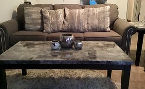 Like new 7 piece living room set! Moving, must sell ASAP! for Sale in Tempe, AZ