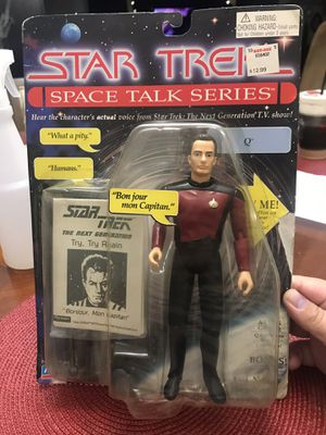 Star Trek Space Talker Series Commander Q for Sale in Los Angeles, CA