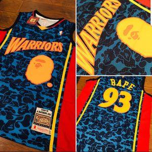 Warriors Bape Jersey for Sale in Las Vegas, NV