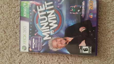 Minute to win it on Xbox 360 for Sale in Charlottesville,  VA