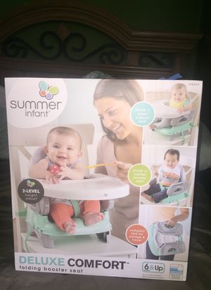 Deluxe Comfort folding booster seat for Sale in Nashville, TN