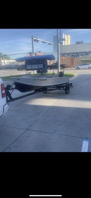 14 Ft aluminum Boat for Sale in Miami, FL