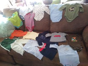 Baby boy bundle clothes 3-6 months 16pc 15.00 pick-up in Gilbert for Sale in Gilbert, AZ