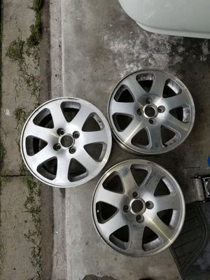 3 Honda Si Rims EK,EG,integra in perfect condition for Sale in Kissimmee, FL