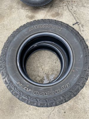 Two 235-75-R17 tires for Sale in Faber, VA