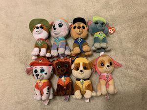 Paw Patrol Ty Stuffed Animals for Sale in Phoenix, AZ