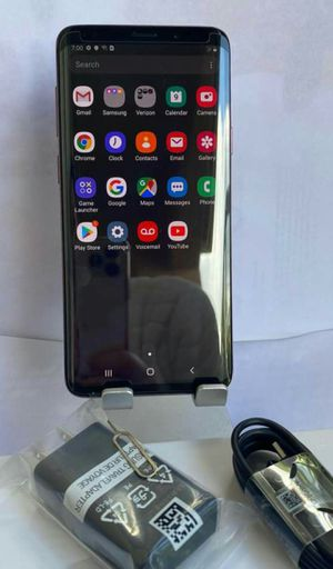 SAMSUNG Galaxy S9 Plus, Unlocked for any carrier Sim, Excellent condition As like new. for Sale in Springfield, VA