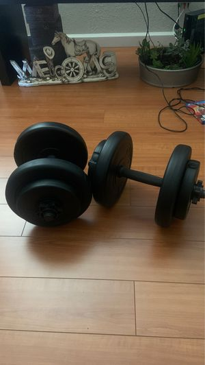 Dumbbell weights for Sale in San Leandro, CA