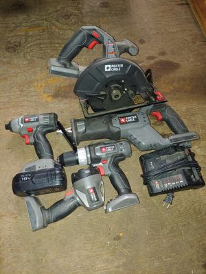 Porter cable power tools for Sale in Spanaway, WA