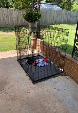 Big dog crate for Sale in Wake Forest, NC